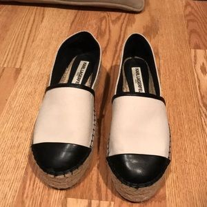 Karl Lagerfeld black and white shoes